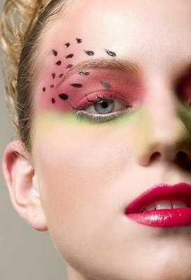 maquillaje-ojos-sandia
