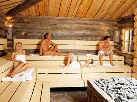 Ba os de vapor y sauna para una piel saludable web de la - Que es una sauna ...