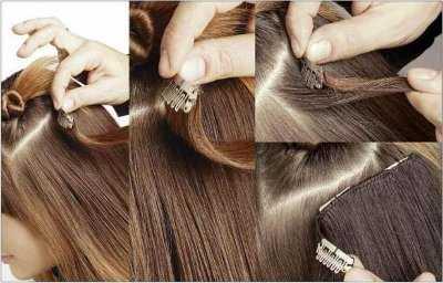 extensiones de pelo material funciones y forma de On que tipo de extensiones son las mejores