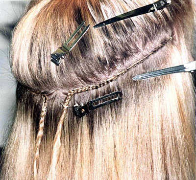 learn how to do hair extensions