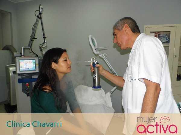 Tratamiento ambulatorio con nitrógeno líquido en spray