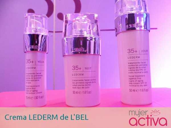 Para las que intentan prevenir el envejecimiento, crema LEDERM +35