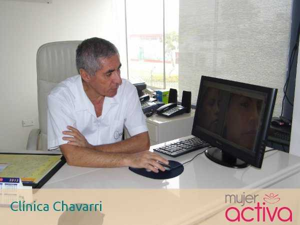 El doctor Fernando Chavarri nos muestra los resultados del método con láser