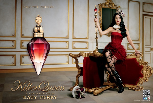 Killer queen, fragancia llena de glamour de la original Katy Perry