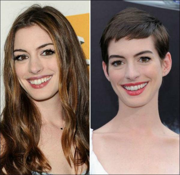 Anne Hathaway se arriesgó y ganó.
