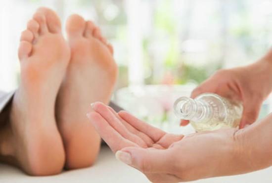 piel seca en los pies